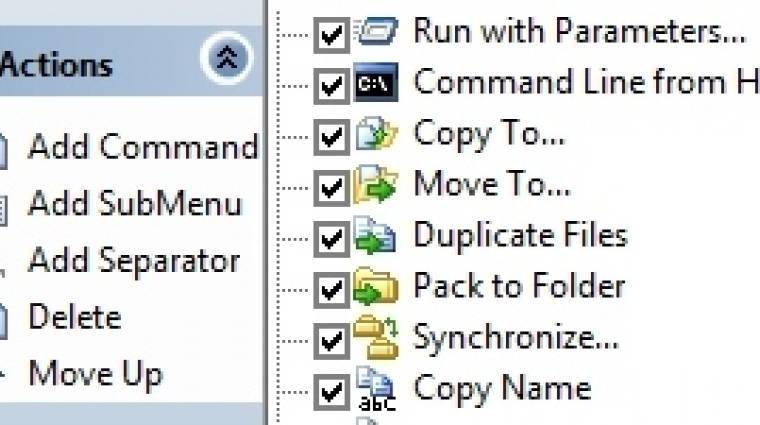 FileMenu Tools: eszközök egy kattintásra kép
