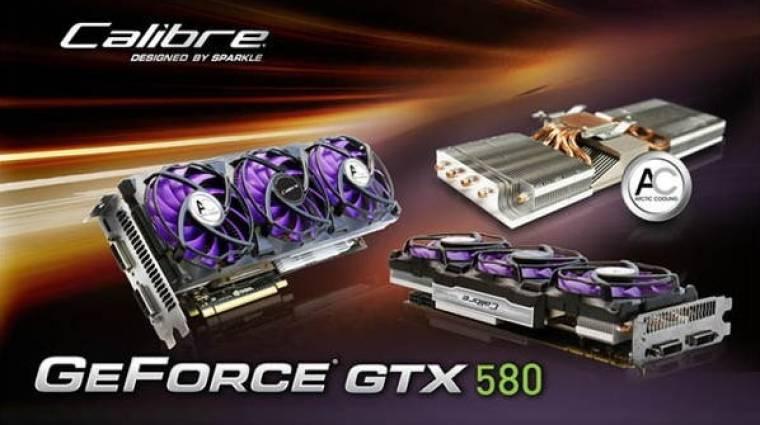 Özönlenek a GeForce GTX 580-ak! kép