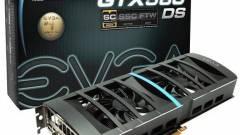 GeForce GTX 580 DS Superclocked az EVGA-től kép