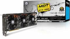 Többmonitoros KFA2 GeForce GTX 580 kép