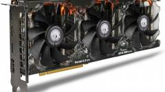 Négymonitoros GeForce GTX 580 a KFA2-tól kép