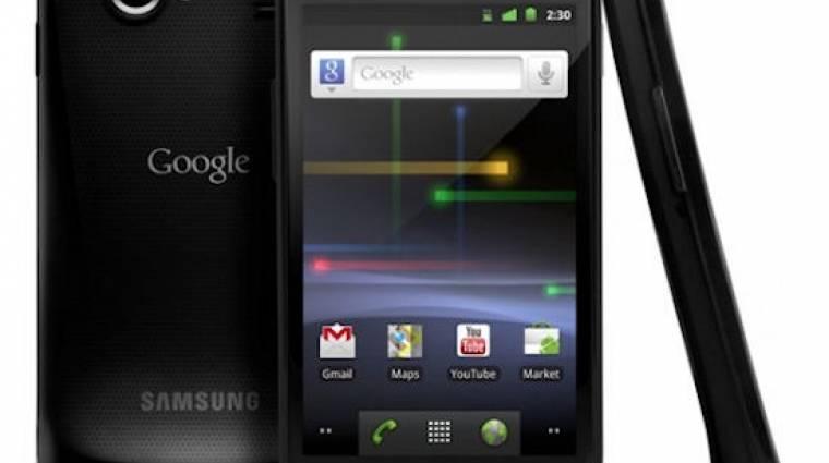 Megérkezett a Sprinthez a Nexus S 4G kép
