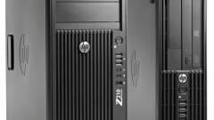 HP Z210: új, kompakt munkaállomás kép