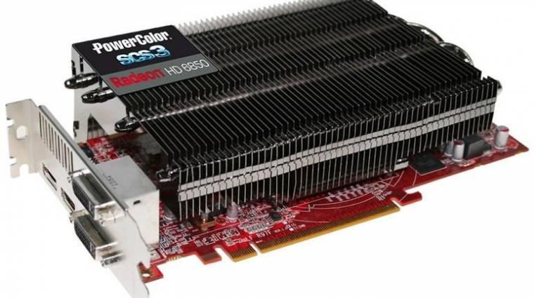 Érkezik a passzív PowerColor Radeon HD 6850 kép