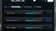 TriXX: videokártya-tuning Sapphire módra kép