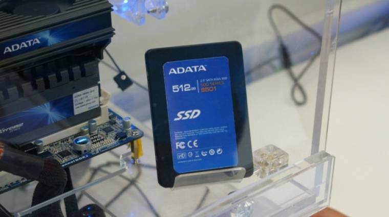 Érkeznek a 6 Gbps-os A-Data SSD-k kép