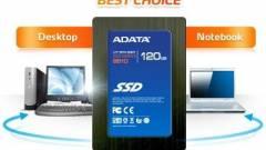 Belépőkategóriás SSD-vel frissít az A-Data kép