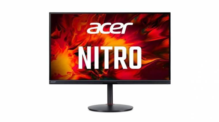 Konzolokhoz is jó, HDMI 2.1-es gamermonitort villantott az Acer kép