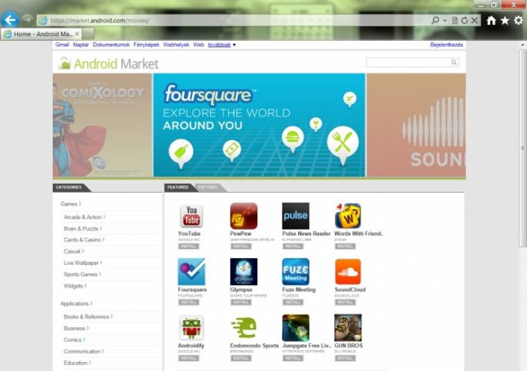 daf6691d73 A http://market.android.com/music/, http://market.android.com/movies/,  http://market.android.com/books/ linkek érdekessége azonban, hogy  amennyiben bármi ...