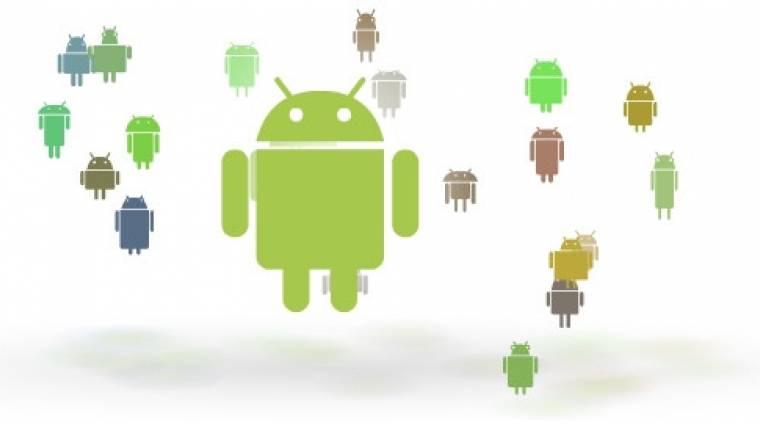 Lenyomta az Android az iOS-t kép