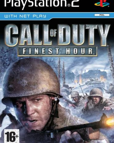 CALL OF DUTY FINEST HOUR PLATINUM  kép