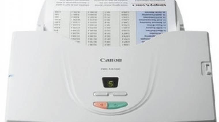 30%-ot gyorsított dokumentum szkennerén a Canon kép