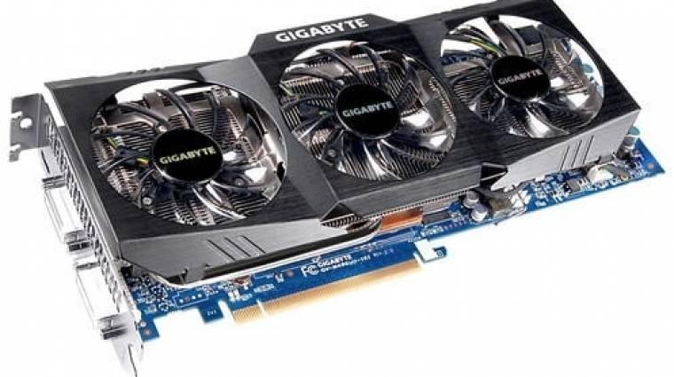 Frissült a Gigabyte GeForce GTX 460 és 480 kép