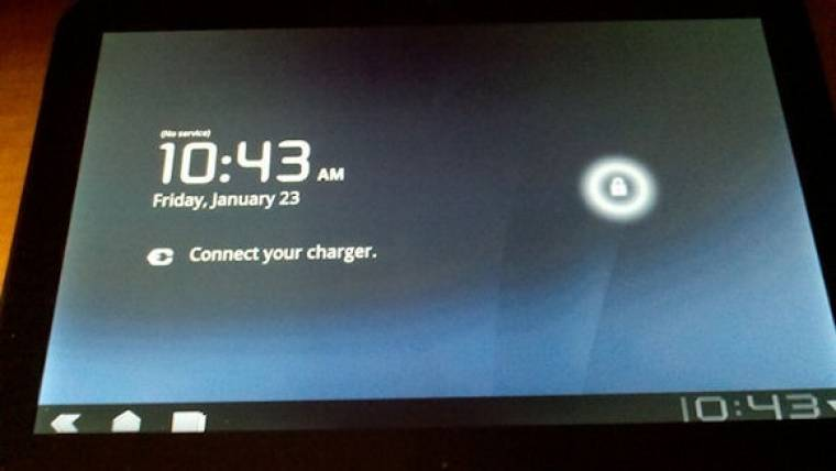 Motorola Android 3.0 tablet