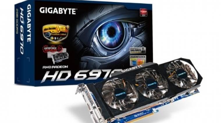 Újabb Gigabyte Radeon HD 6970 OC-kiadásban kép