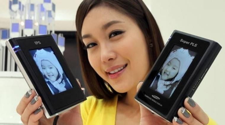 Samsung Super PLS az IPS panelek ellen kép