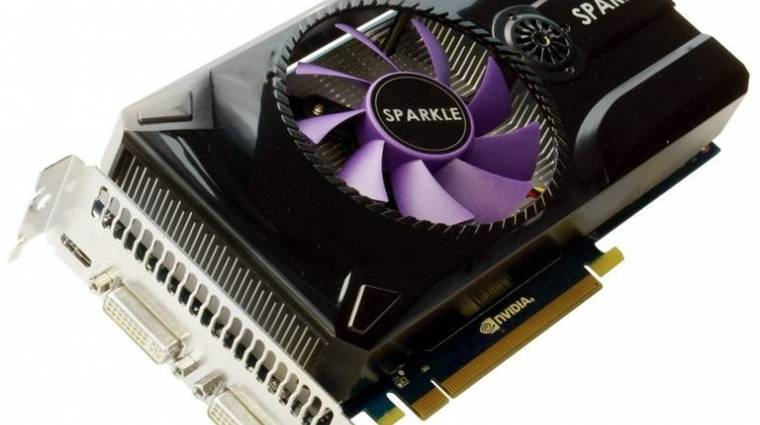 Sparkle GeForce GTX 460 SE - Sabrina Edition kép