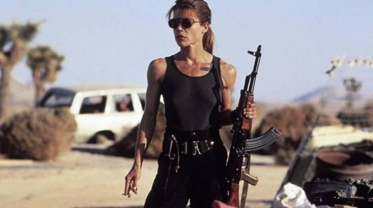 Terminator 6 - első képen a visszatérő Linda Hamilton kép
