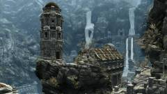 Így fut a Skyrim egy billentyűzet kijelzőjén kép