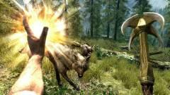 The Elder Scrolls Skyrim: szabadon szárnyalni a táj felett kép