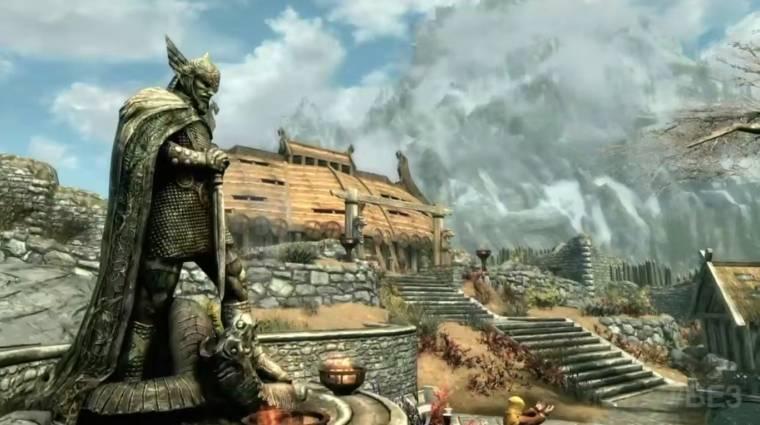 E3 2016 - PC-n is szebb lesz a Skyrim remaster, és ingyen frissül bevezetőkép