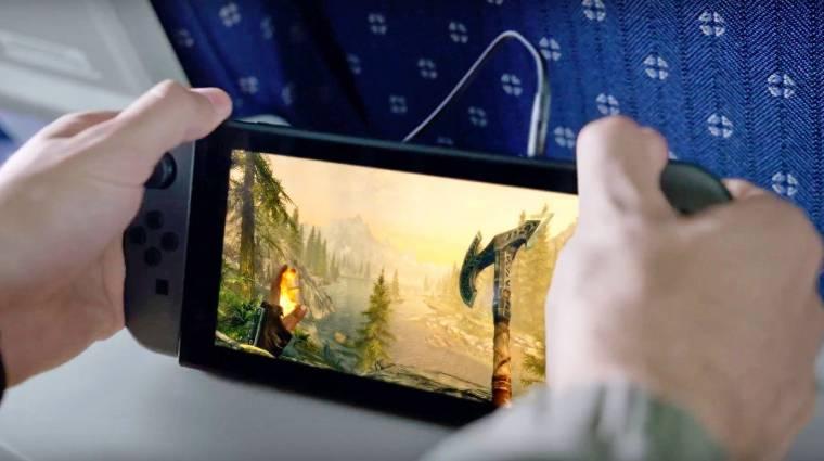 The Elder Scrolls V: Skyrim Nintendo Switch tesztek - kézikonzolon is jó móka hőst játszani bevezetőkép