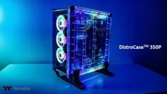 A vízhűtés szerelmeseinek készült a Thermaltake DistroCase 350P gépháza kép