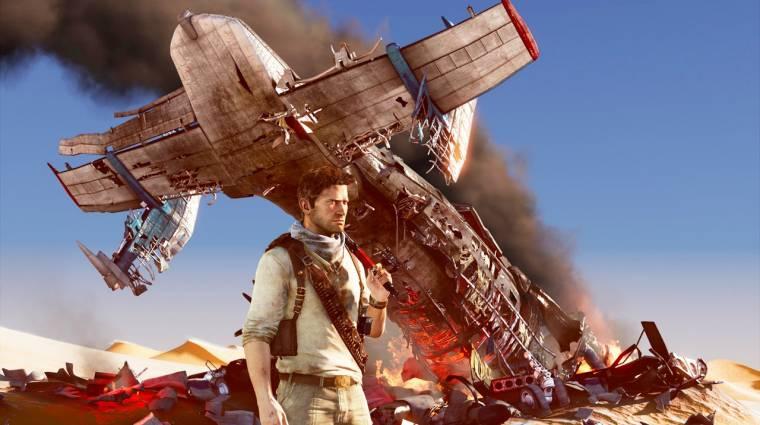 Uncharted 3 - a VGA trailer nem CG lesz bevezetőkép