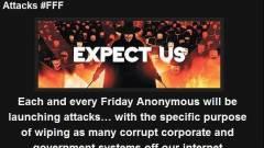 Mostantól minden pénteken Anonymous támadás várható? kép