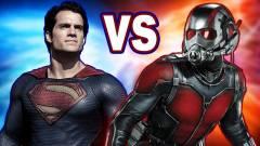 A tudomány szerint Hangya simán összezúzná Supermant kép