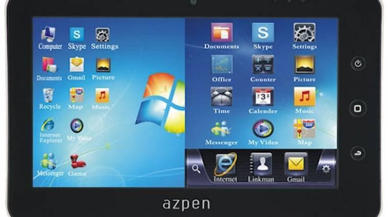 Dual-bootos tablet az Azpentől kép