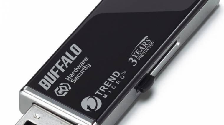Buffalo: szuperbiztos pendrive és 3 TB-os külső HDD kép