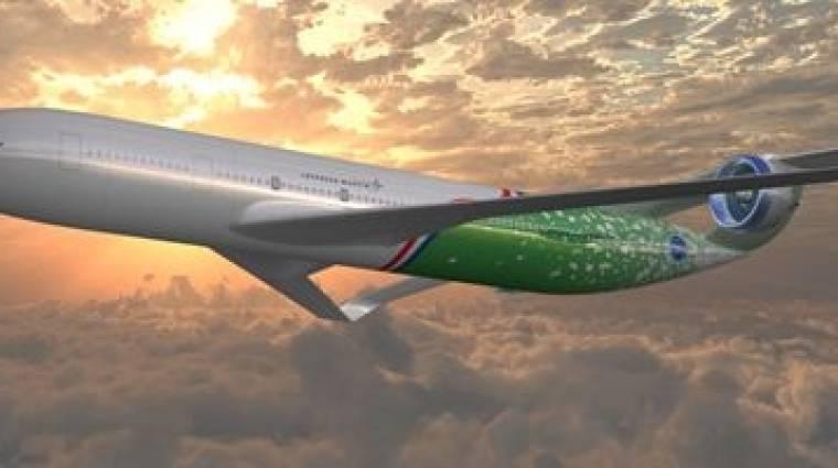 A NASA bemutatta a jövő polgári repülőit kép
