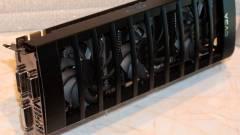 GeForce GTX 590 zárt ajtók mögött a CeBIT-en kép