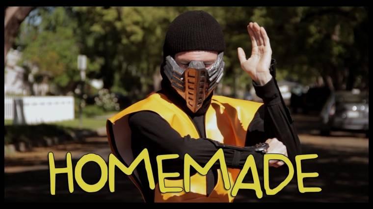 Egy kertben forgatták újra a klasszikus Mortal Kombat trailert (videó) bevezetőkép