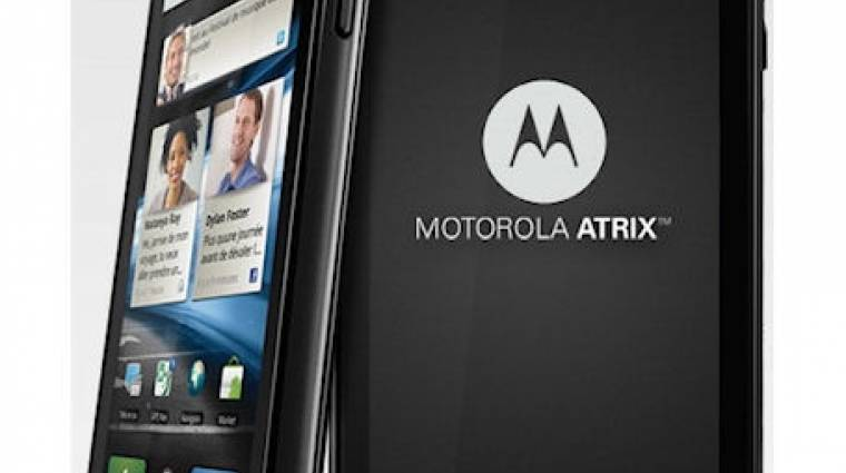 1 GB RAM került a Motorola Atrixba kép