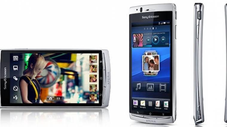 Hivatalos a Sony Ericsson XPERIA Arc kép