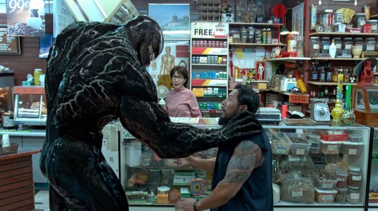 Bővített jelenetekkel jön a Venom Blu-ray-re kép