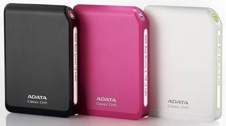 A-Data külső merevlemezek USB 3.0-val kép