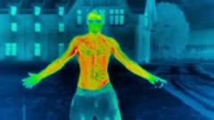 Így néz ki hőkamerán, ahogy kihűl a testünk kép