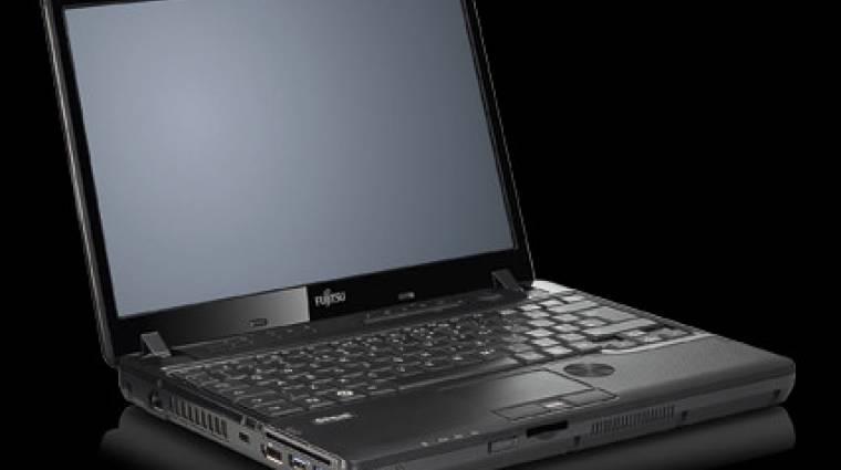 Fujitsu notebook CD-ből és DVD-ből kép