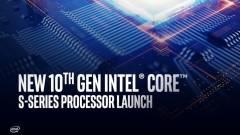 Már nem kell sokat várni az Intel új Comet Lake-S asztali processzoraira kép
