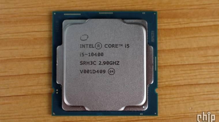 Lemérték, hogy mit tud az Intel Core i5-10400 kép
