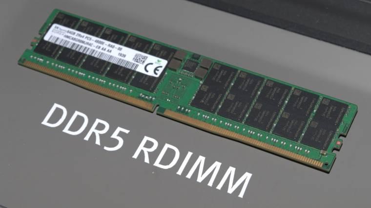 Az AMD előtt támogathatja a DDR5-ös memóriákat az Intel kép