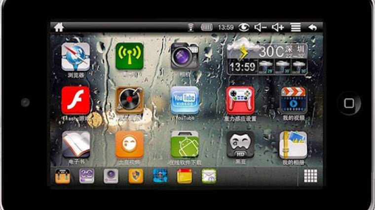 Olcsó és jó iPad-klón a Pioneertől kép