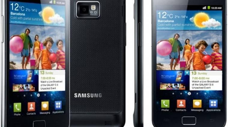 Végigsöpört Európán a Galaxy S II kép