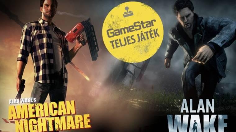 Alan Wake és Alan Wake's American Nightmare - a 2014/11-es GameStar teljes játékai bevezetőkép