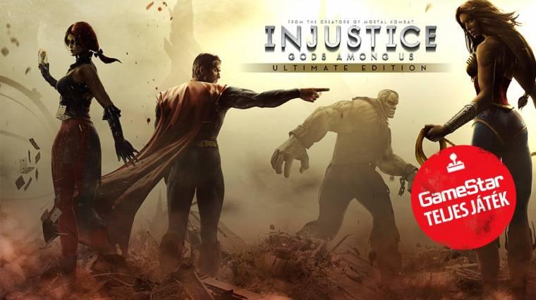 Injustice: Gods Among Us Ultimate Edition - a 2016/05-ös GameStar teljes játéka bevezetőkép