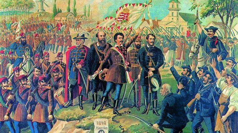 A Google is megemlékezett az 1848-1849-es forradalom és szabadságharcról kép