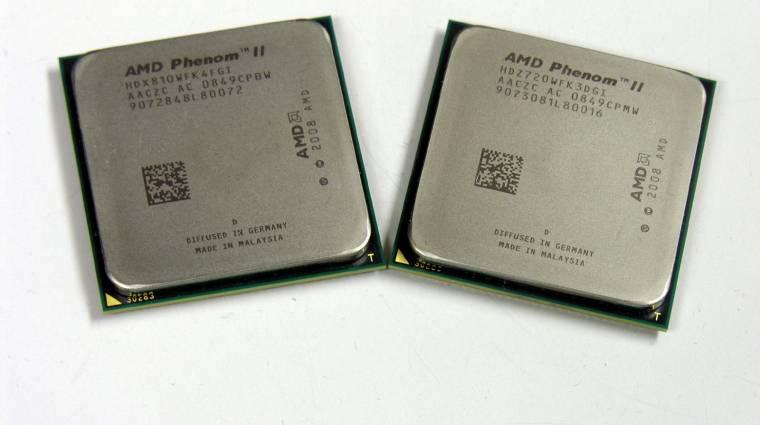 Végleg búcsúznak az AMD Phenom II és Athlon II processzorok kép
